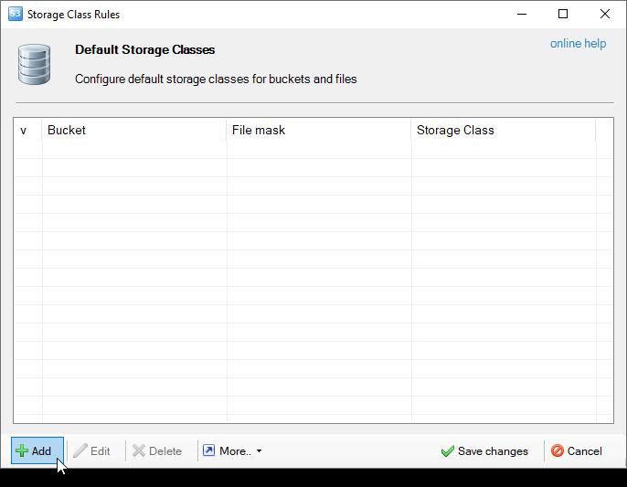 Default Storage Classes