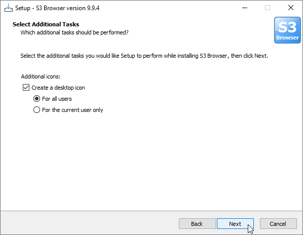 How to install S3 Browser - Freeware client for Amazon S3