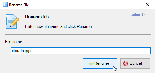 how to make a folder file on type by name