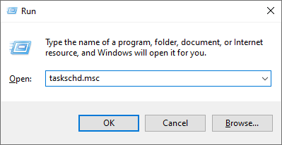 Windows Run Dialog
